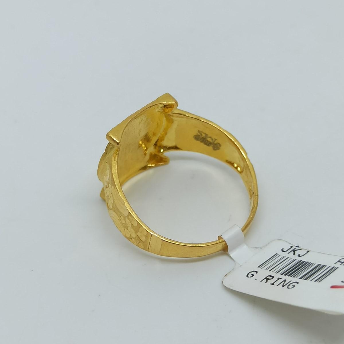 Orient Plain Gold Ring