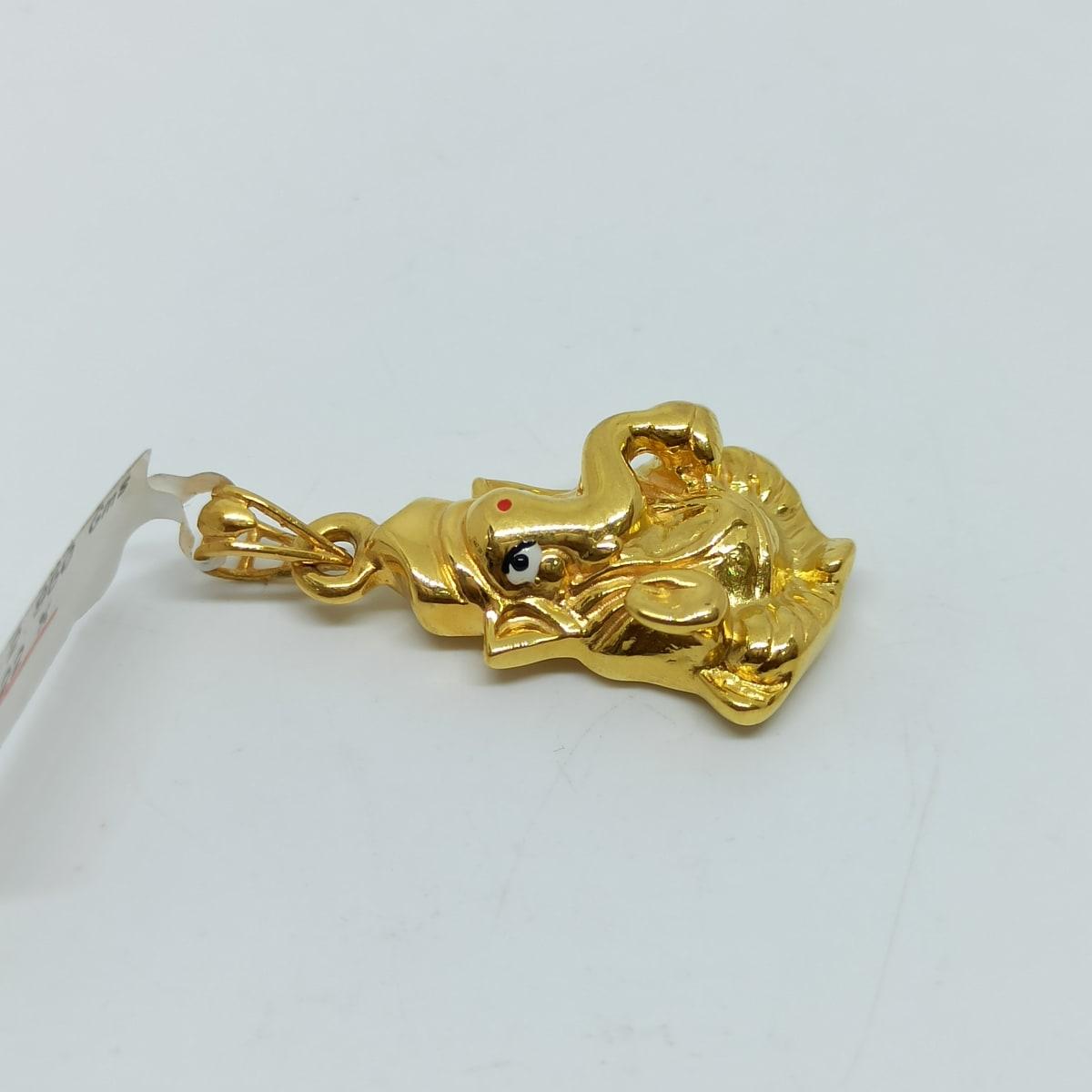 Ganesha Gold Pendant