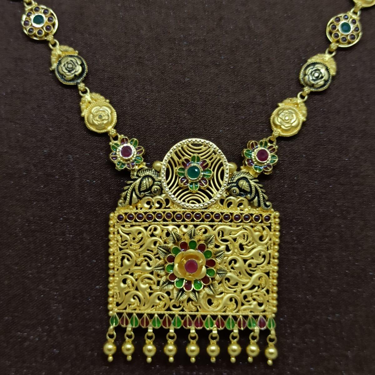 Square Nakash Necklace