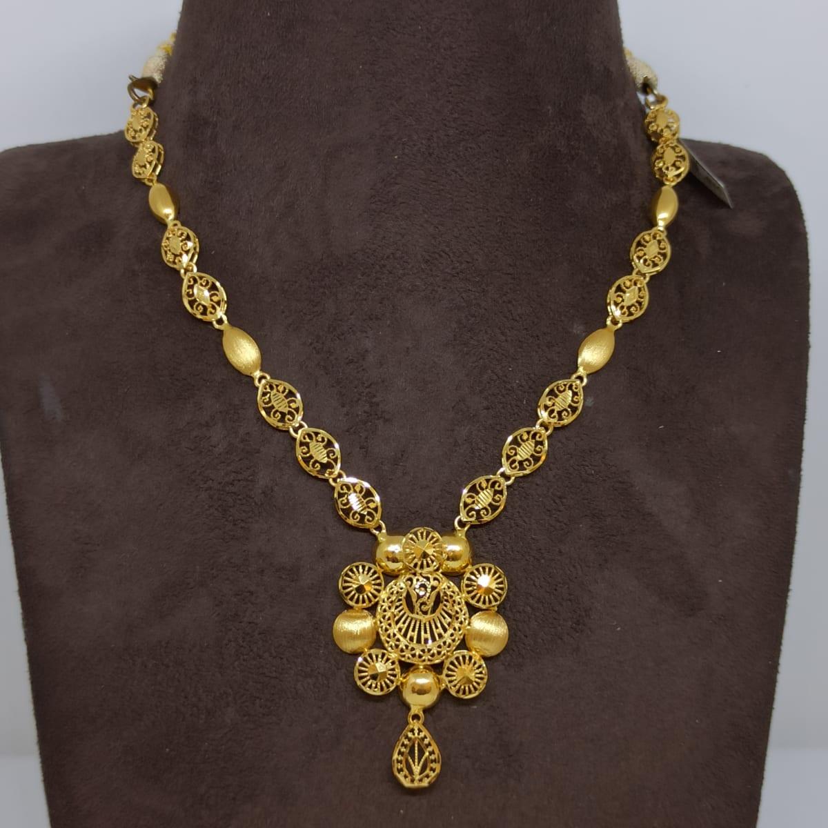Suhana Plain Gold Haram