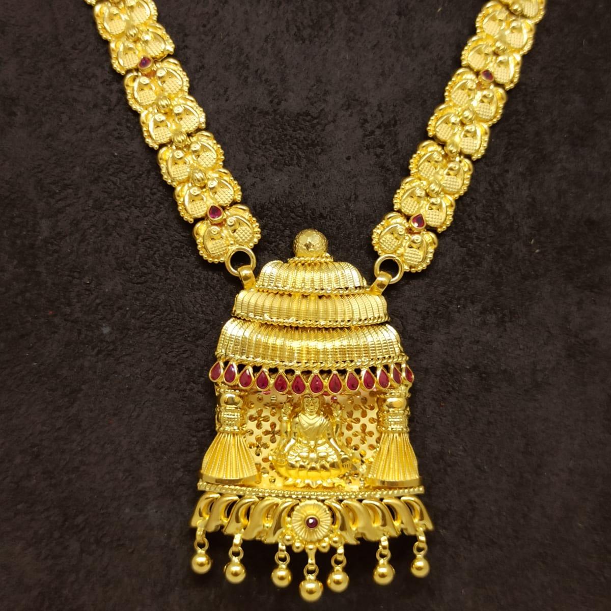 Lakshmi Temple Traditional Necklace