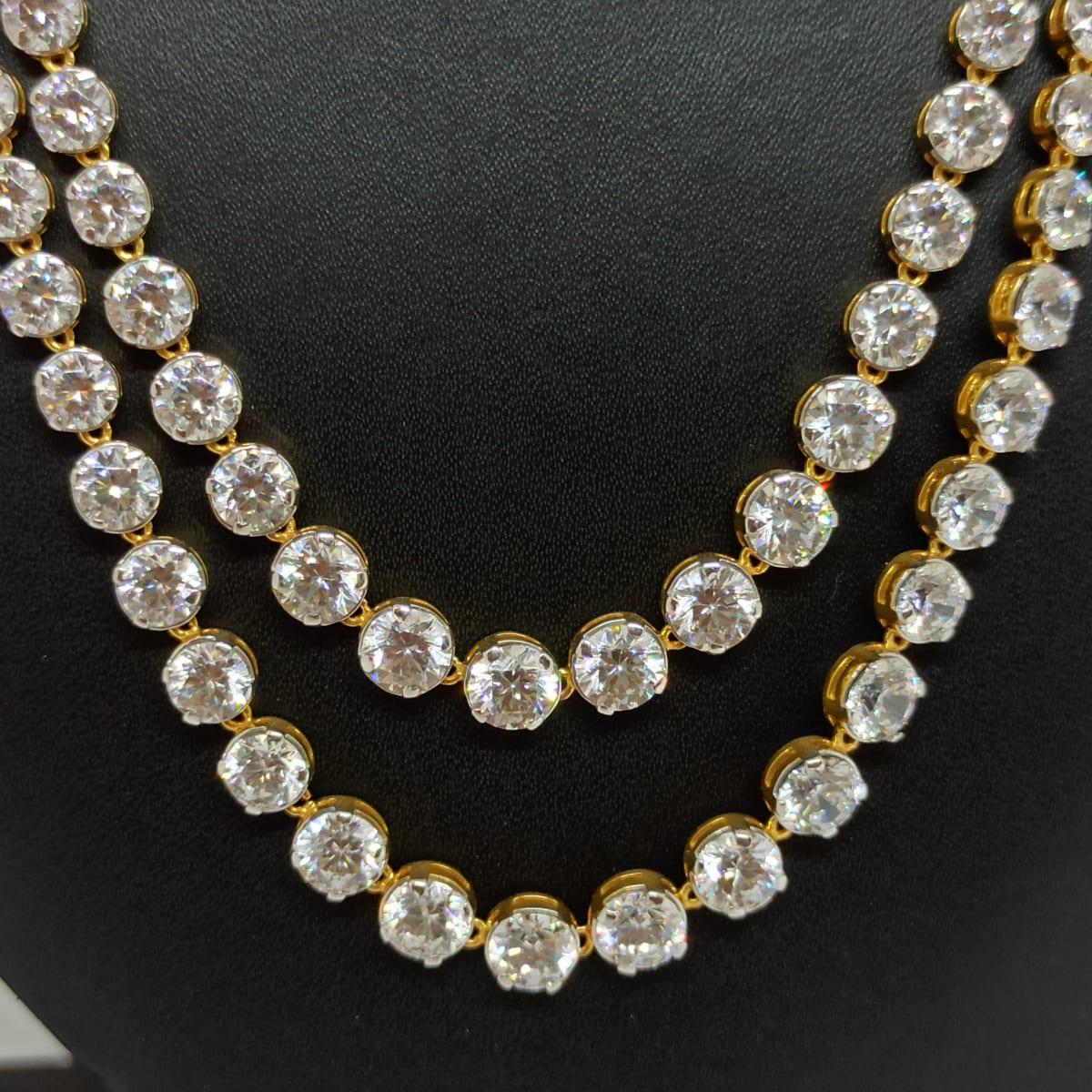 Cz Stone Necklace