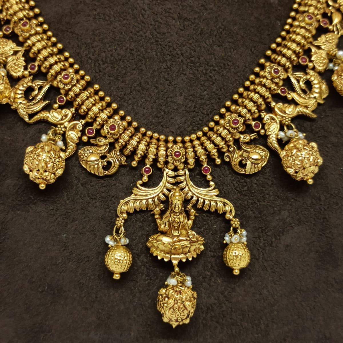 Lalitha Antique Necklace