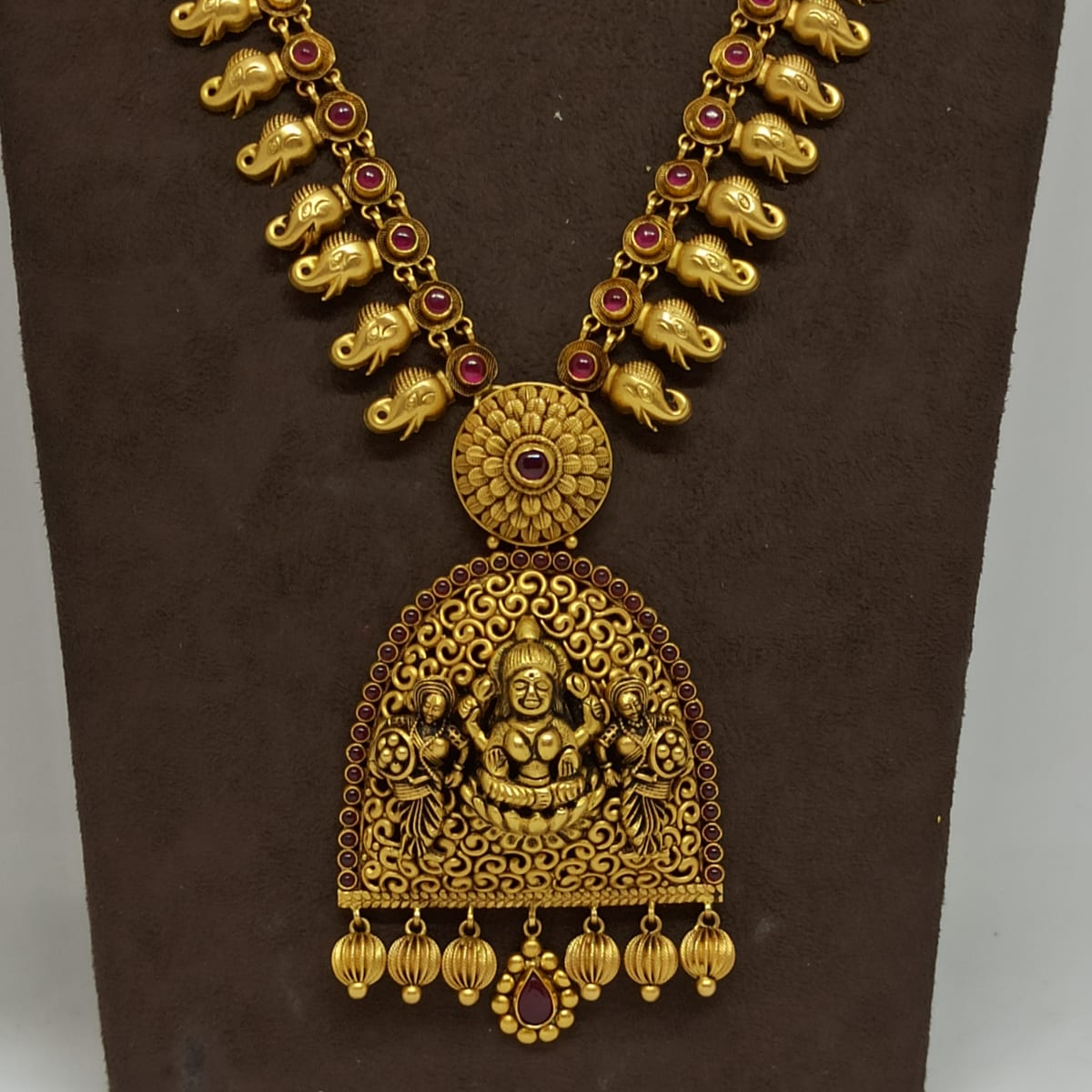 Jali Designer Lakshmi Antique Haram