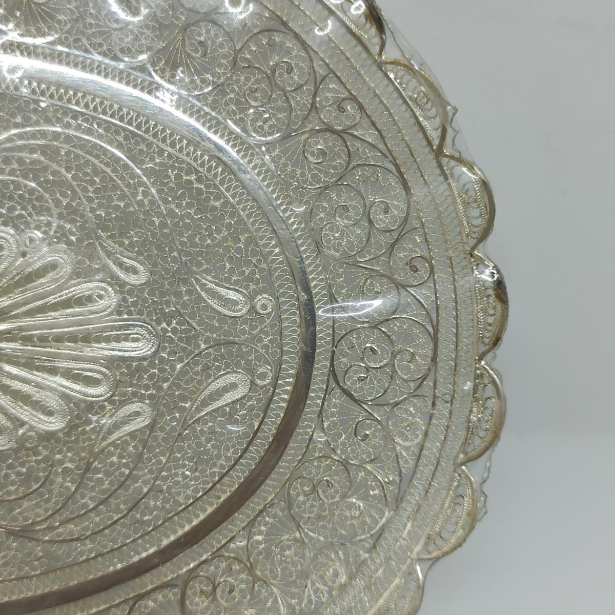 Silver Plain Plate