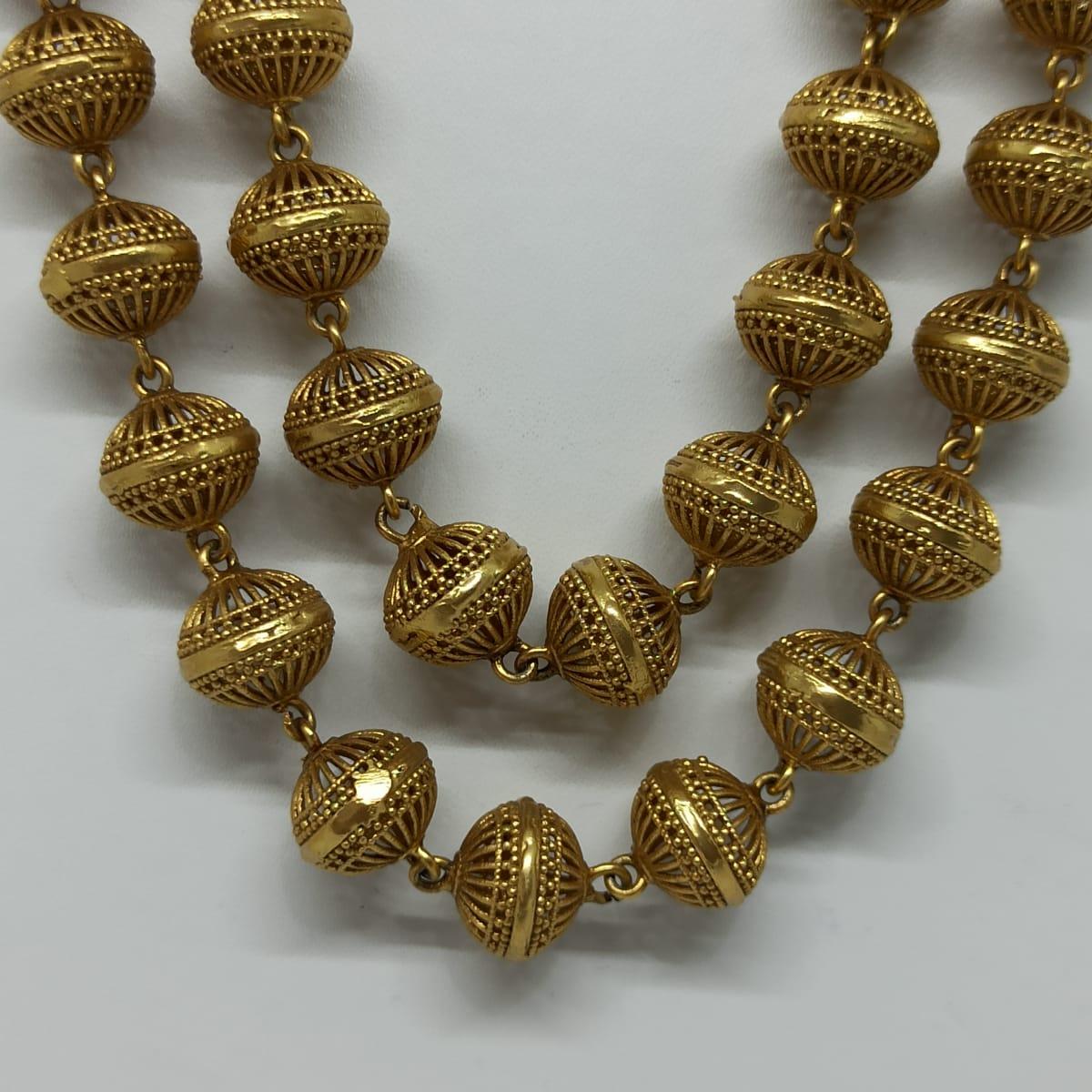 Antique Gundu Necklace