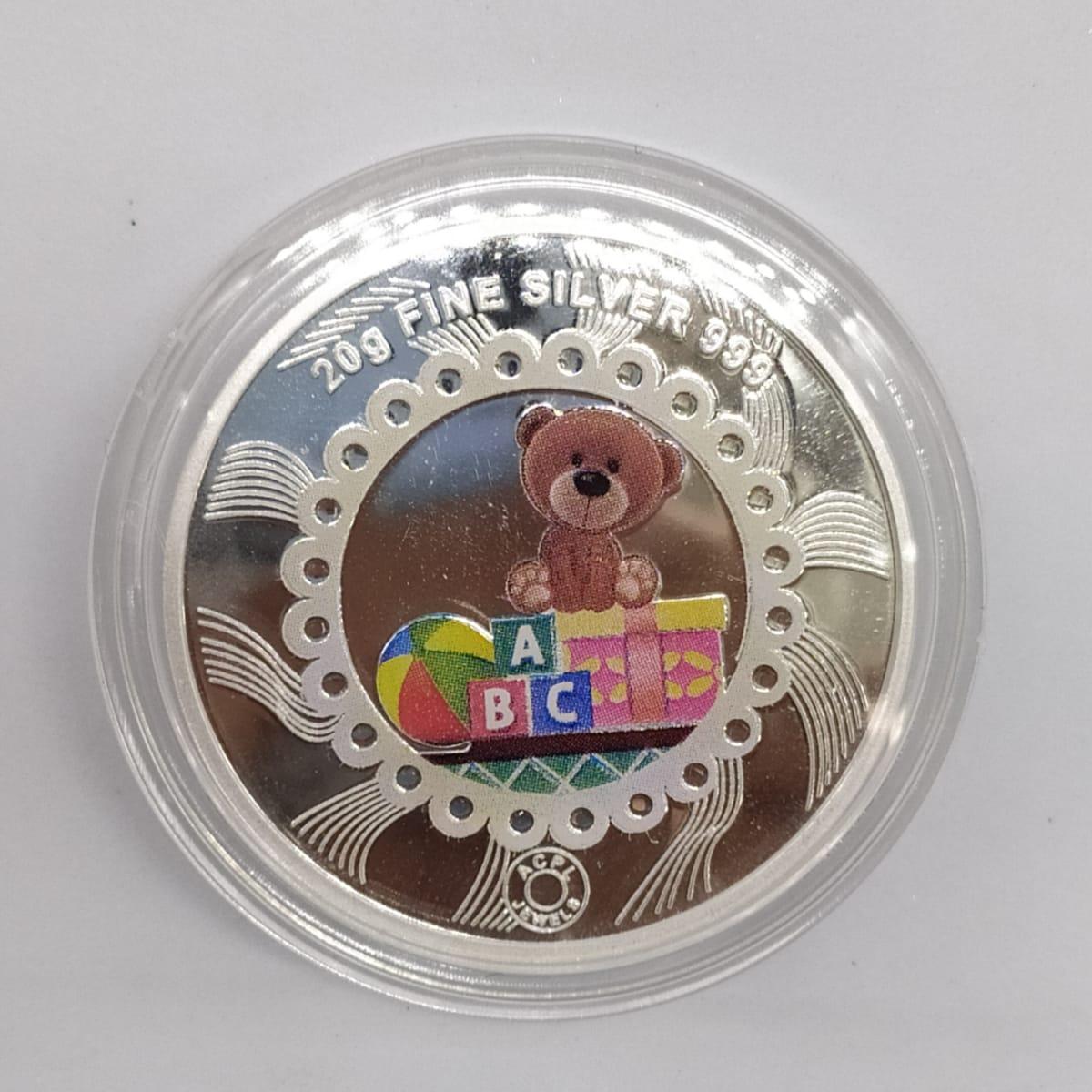 Abc Silver Coin