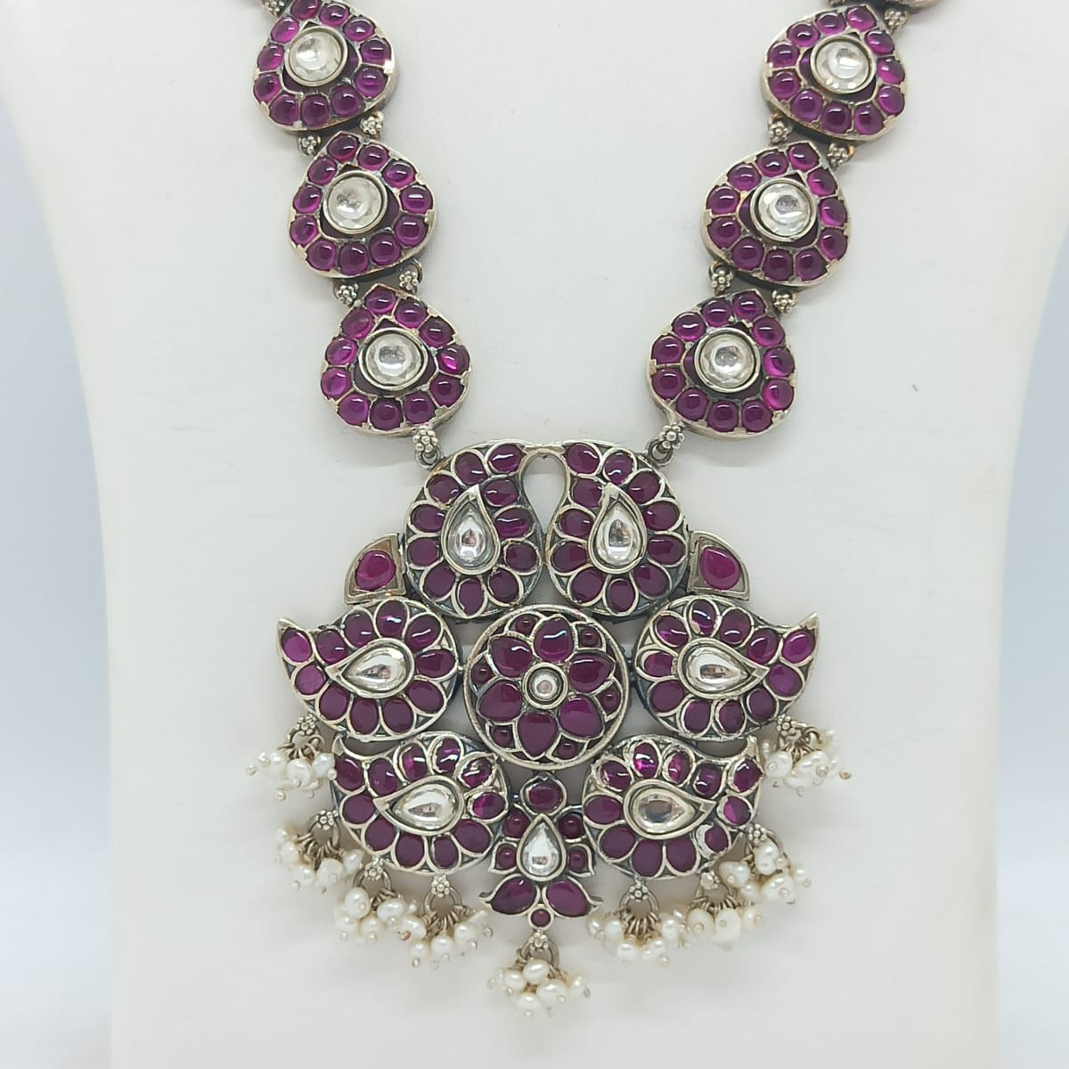 Pink Stone Traditional Necklace