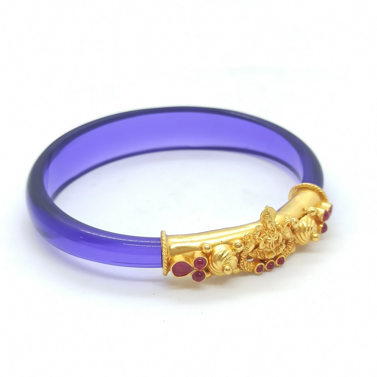 Purple Color Traditional Kada