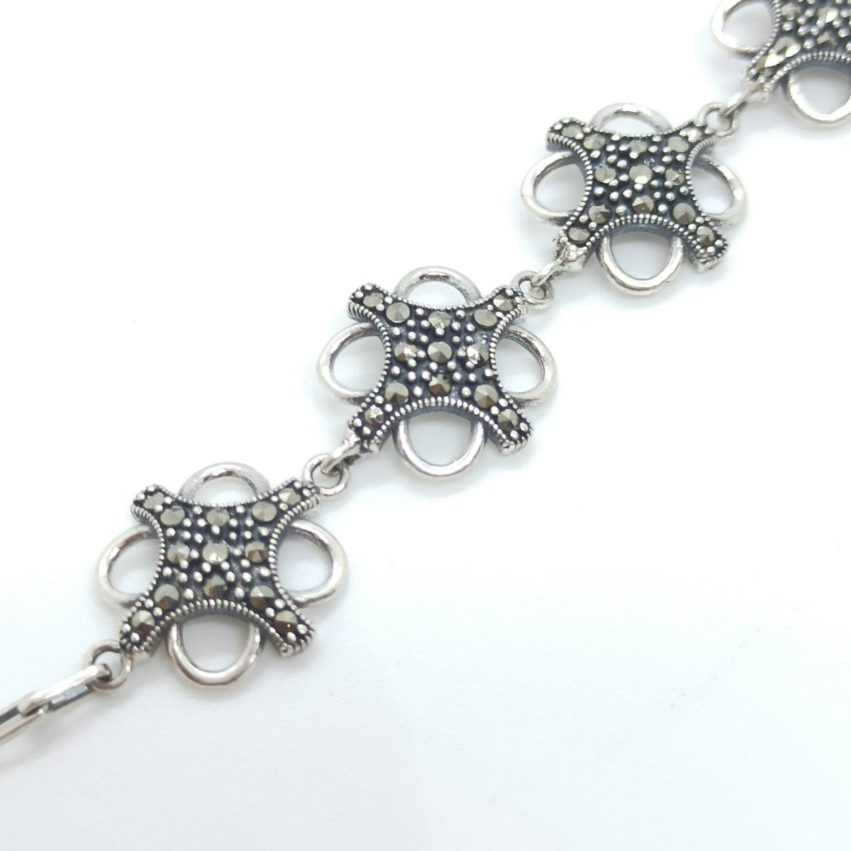 Jeniva Oxidized Bracelet