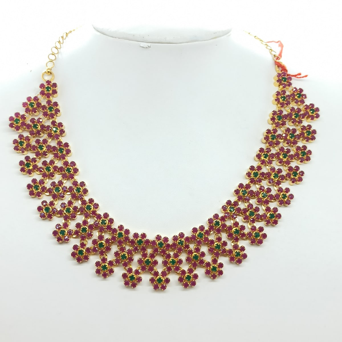 Colorstone Cz Necklace