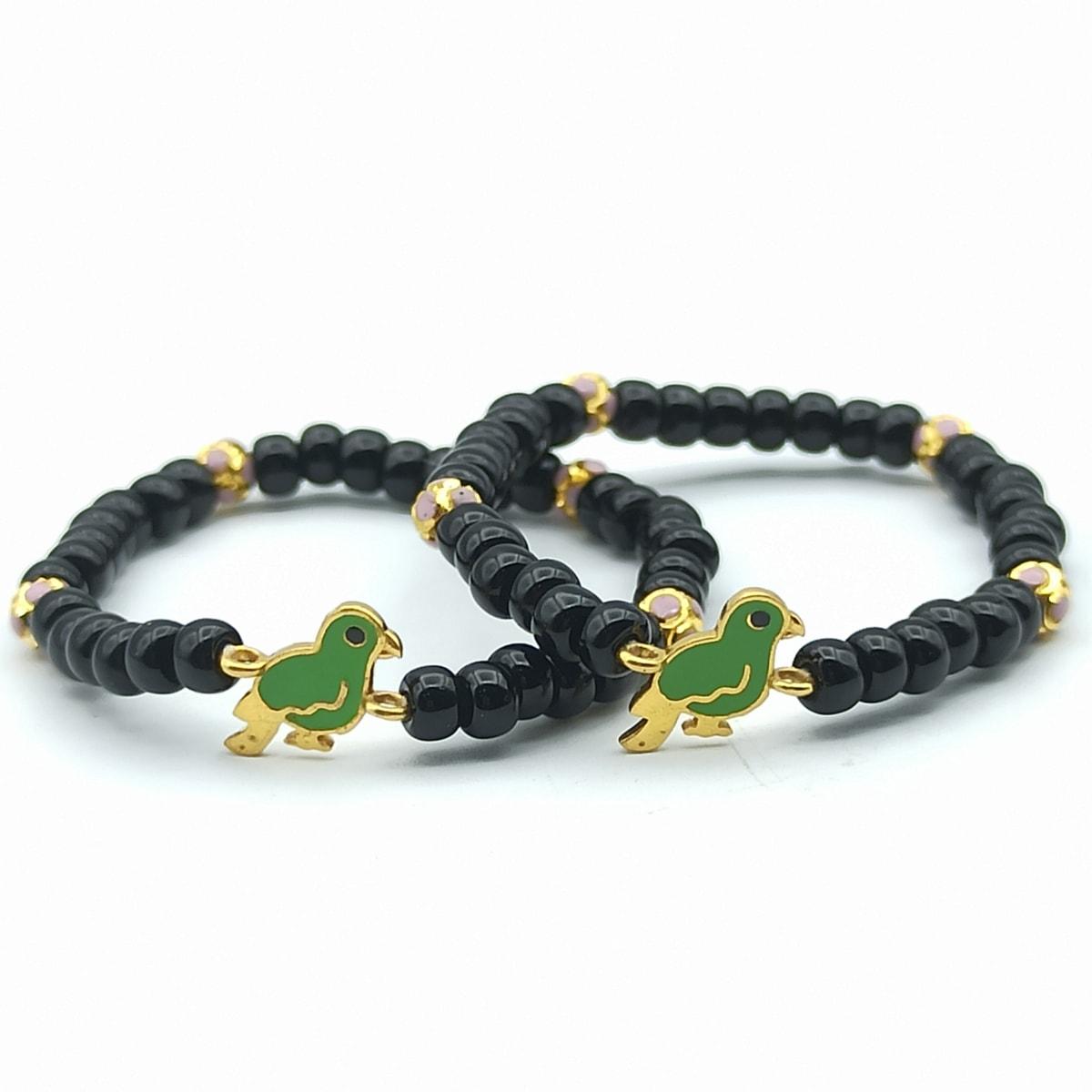 Green Parrot Bracelet