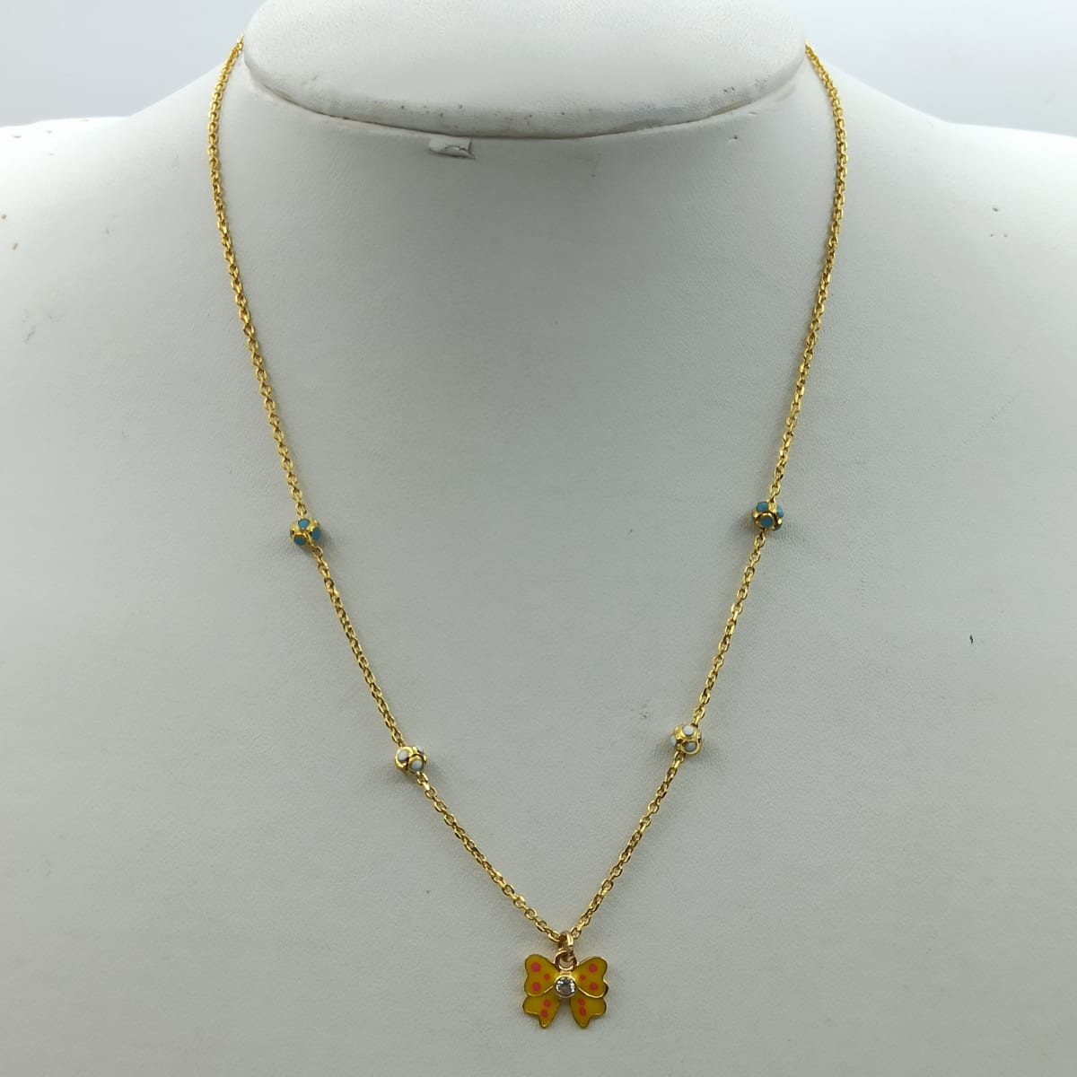 Yellow Butterfly Chain