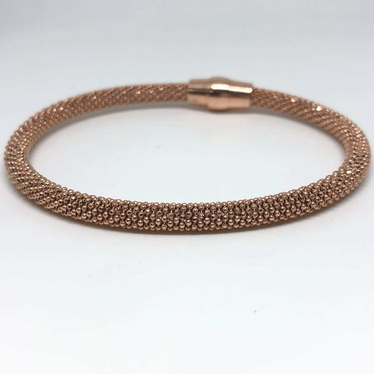 Rose Silver Ball Bracelet