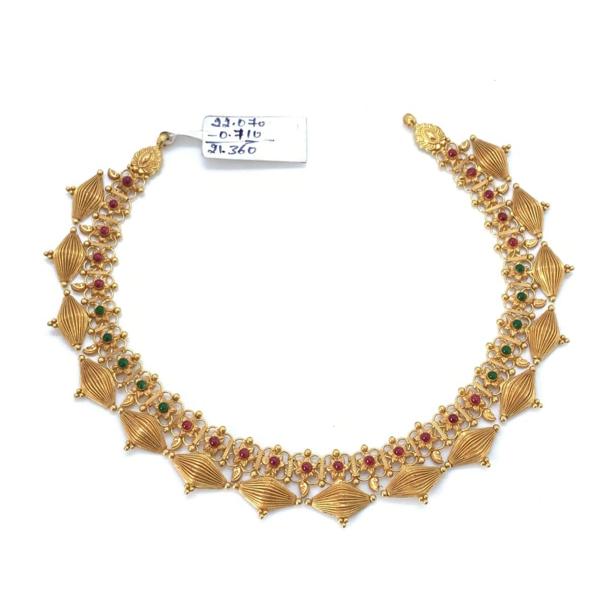 Gold Necklace Set 1