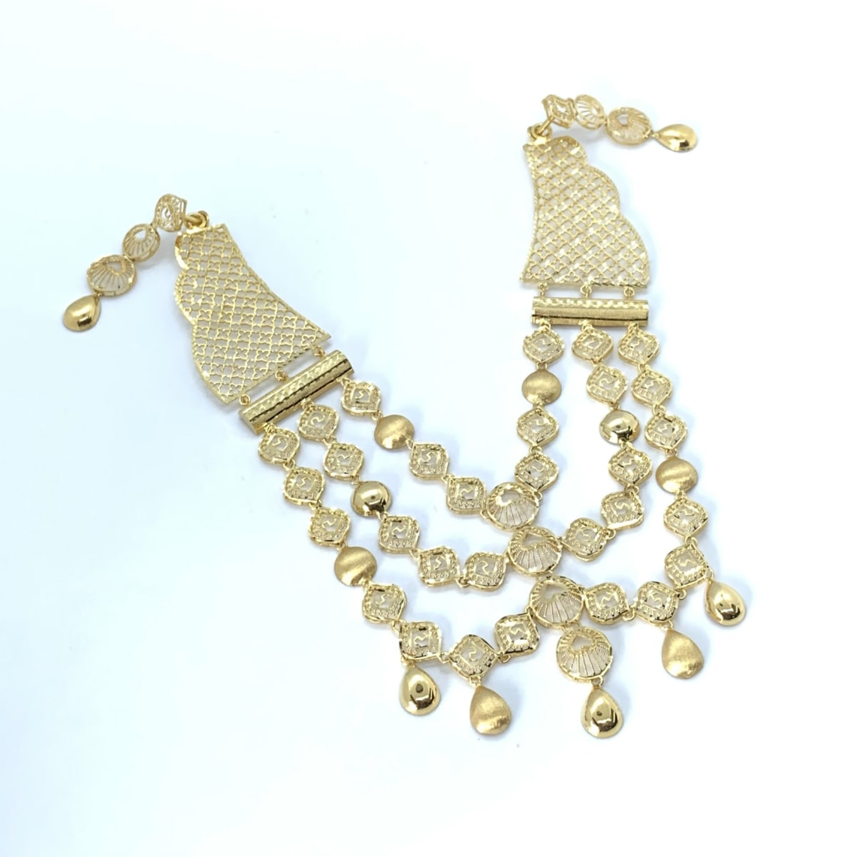 Gold Necklace Set 2