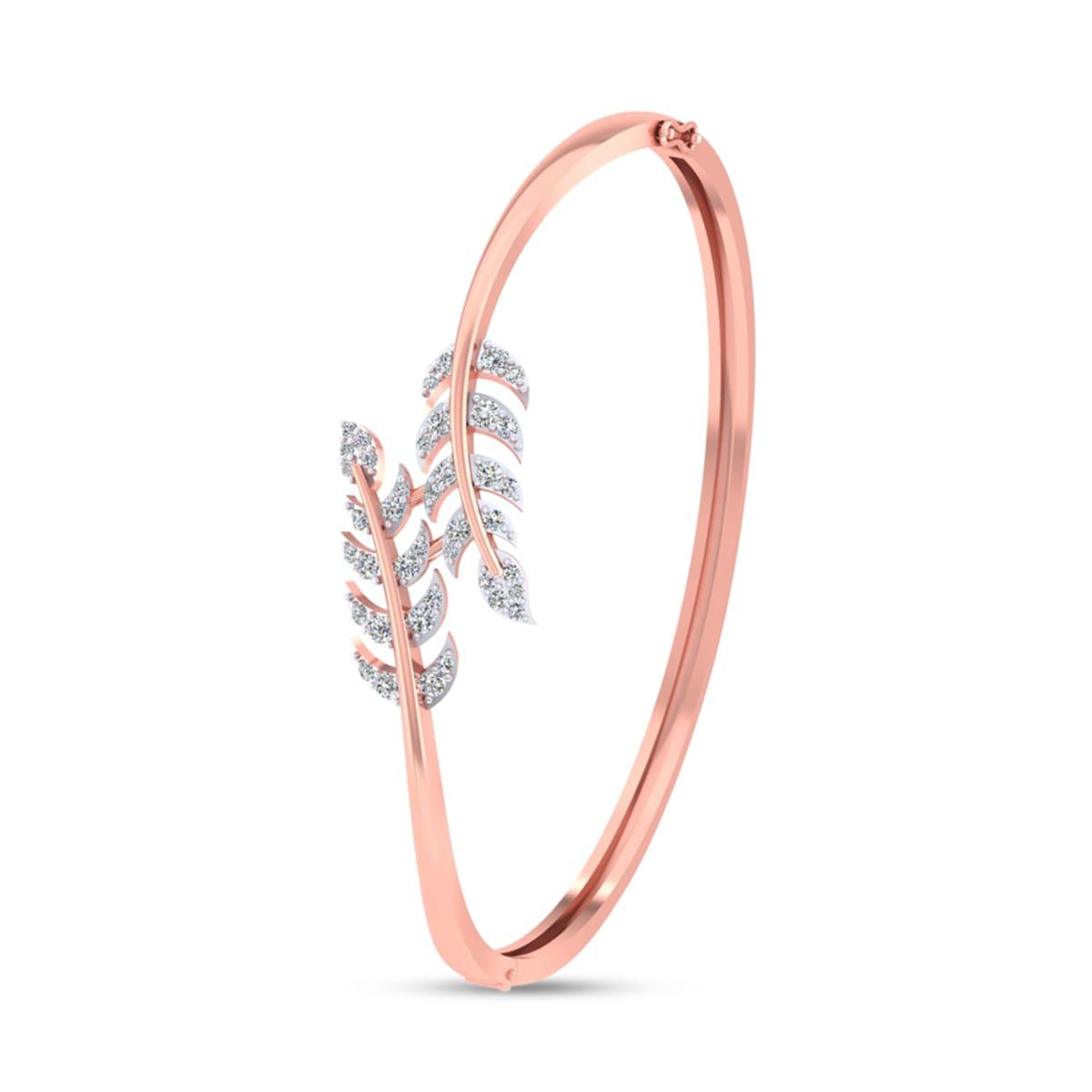 Leaf Real Diamond Bracelets