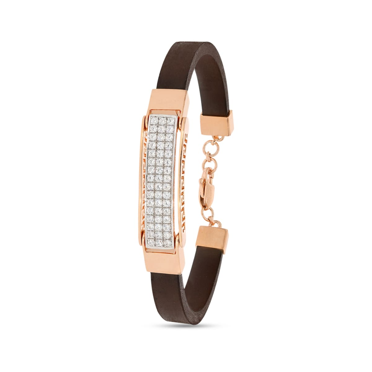 Real Diamond Gents Bracelet 1