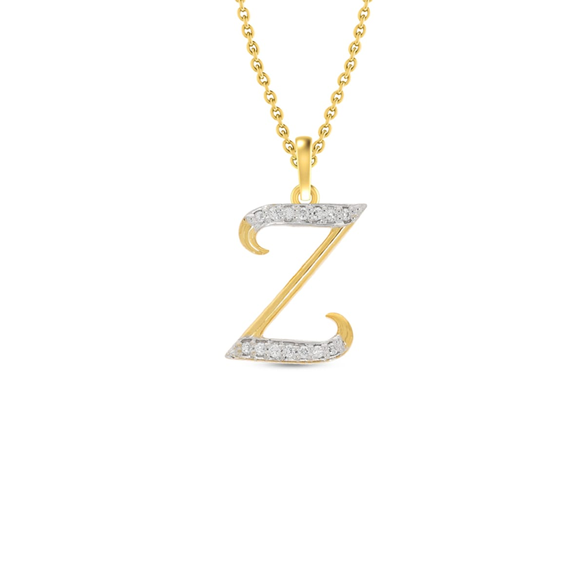 Z Word Real Diamond Pendant