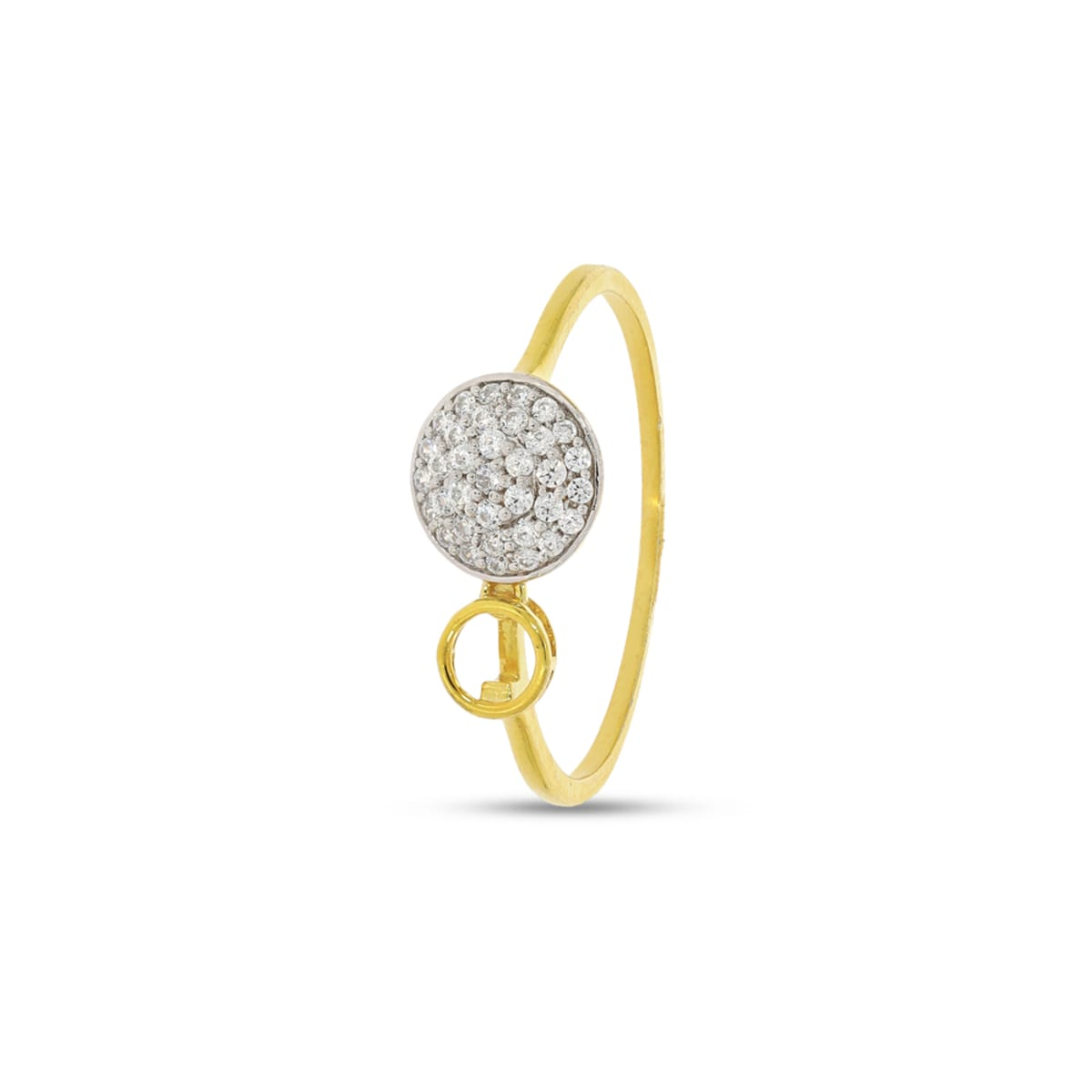 Circle Shape Diamond Ring