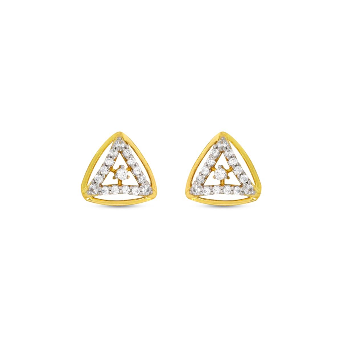 Real Diamond Stud Earring 12
