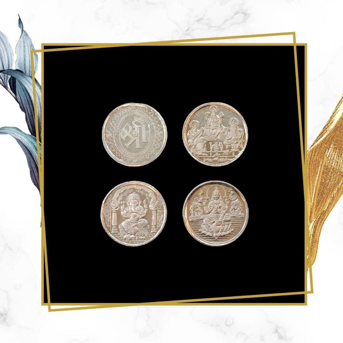 2 Gram Each Goddess Coin