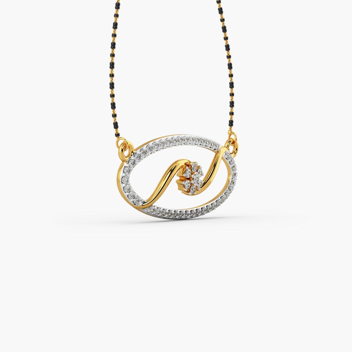 Gold Designer Mangalsutra 3