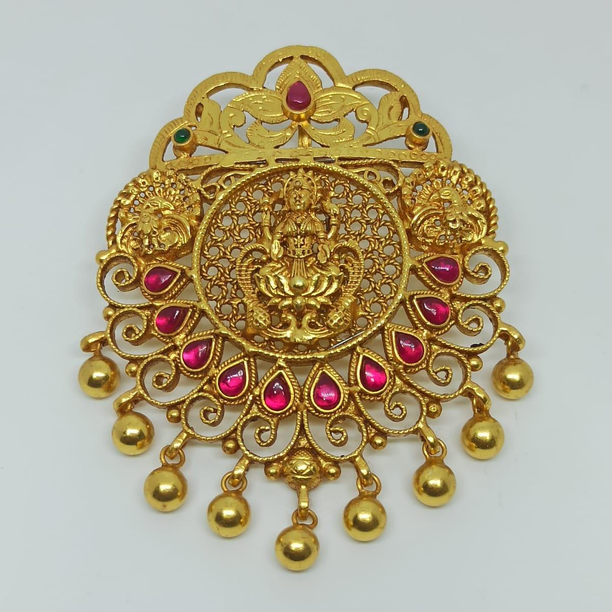 Lakshmi Jali Pendant