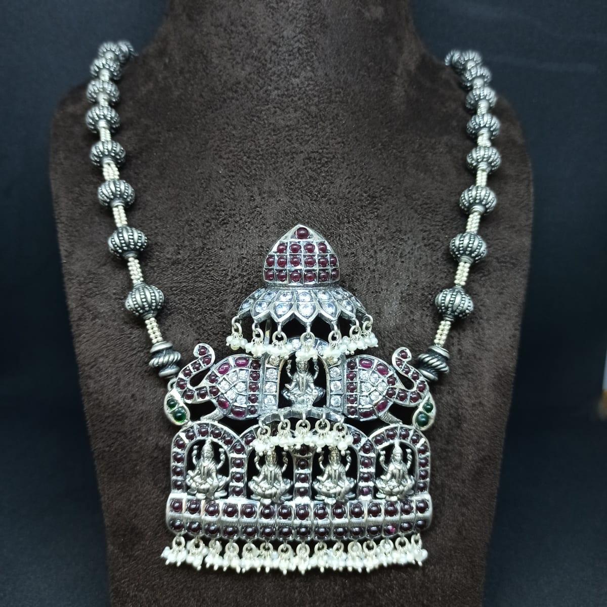 Lakshmi Silver Mini Haram