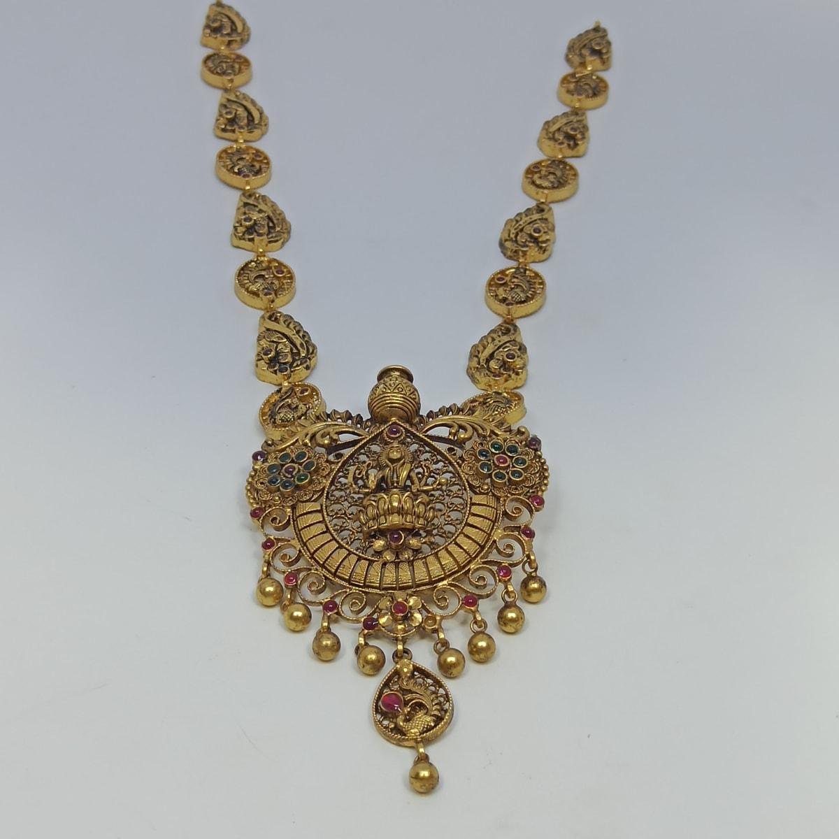 Lakshmi Floral Antique Haram