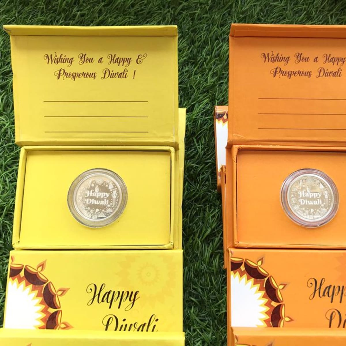 Diwali Silver 10 Gms 999 Purity Coin