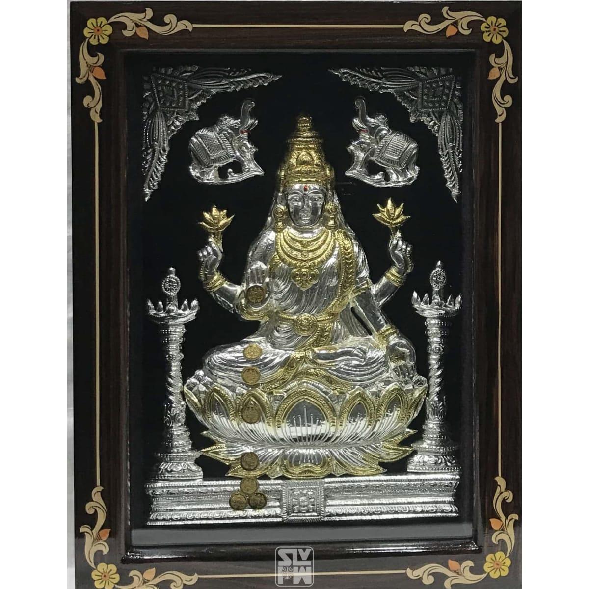 Lakshmi 12x16 Gold Polish
