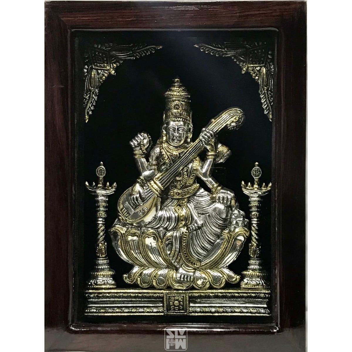 Saraswati 12x16 Antique