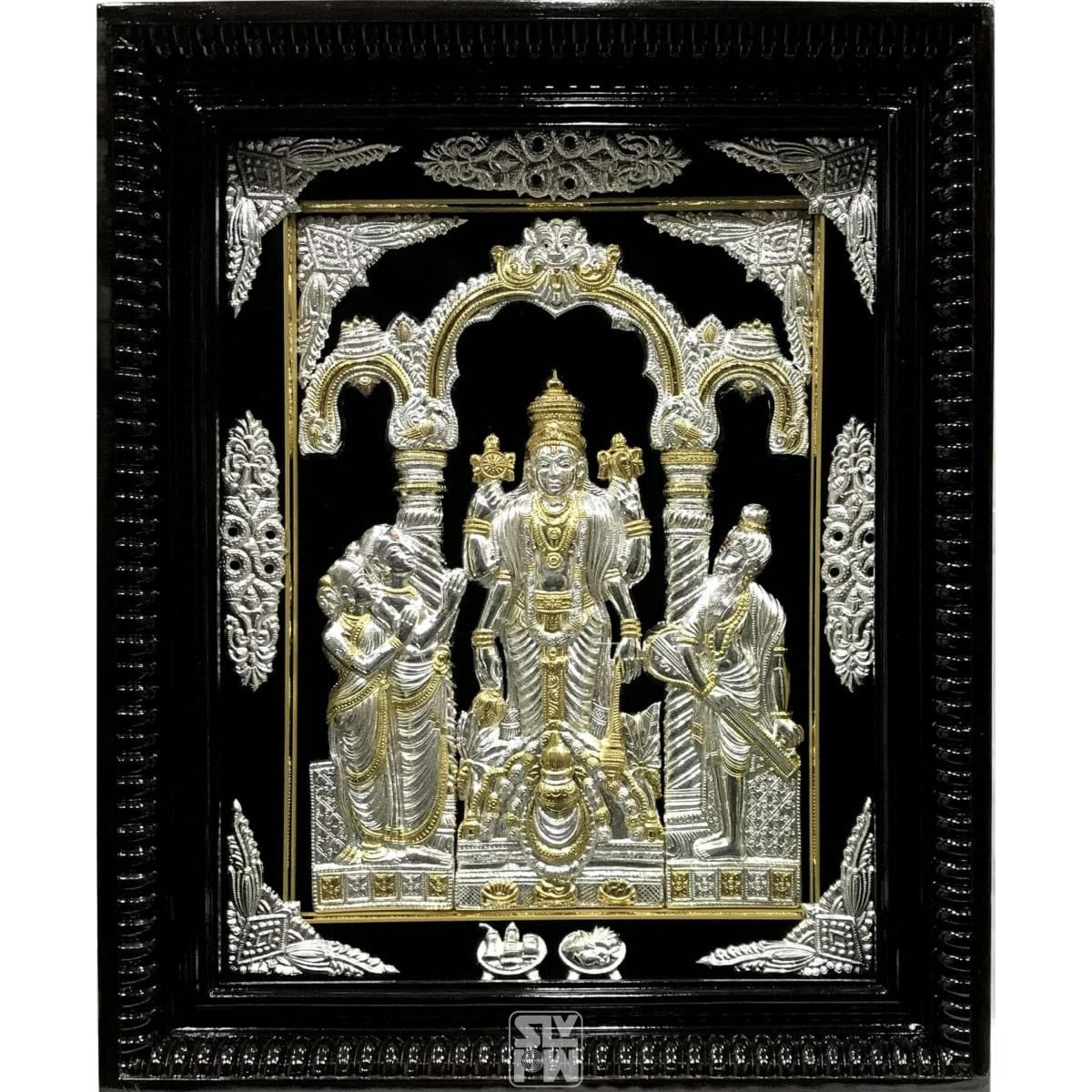Sathyanarayana 18x22 Gold Polish