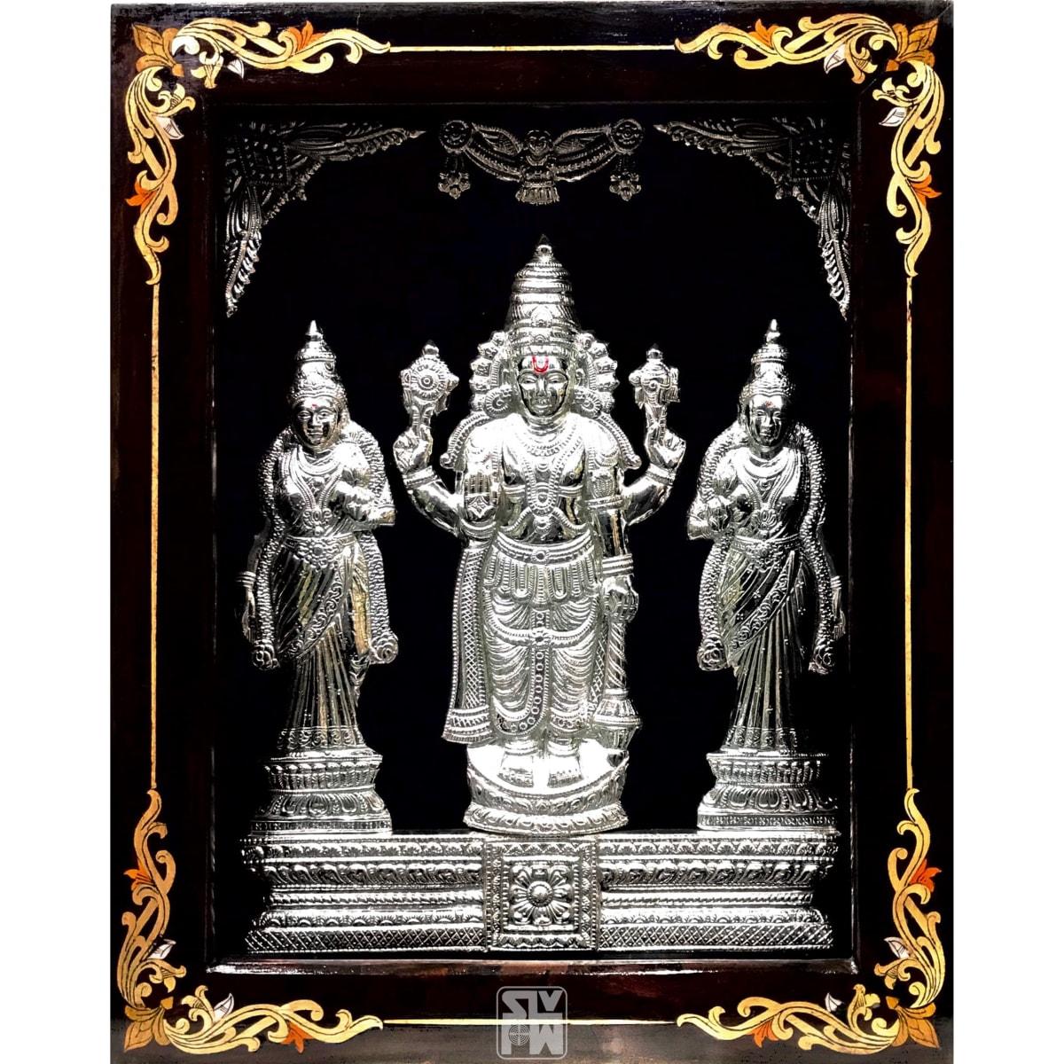 Belur Chennakeshwara With Sridevi Bhoodevi 15x19