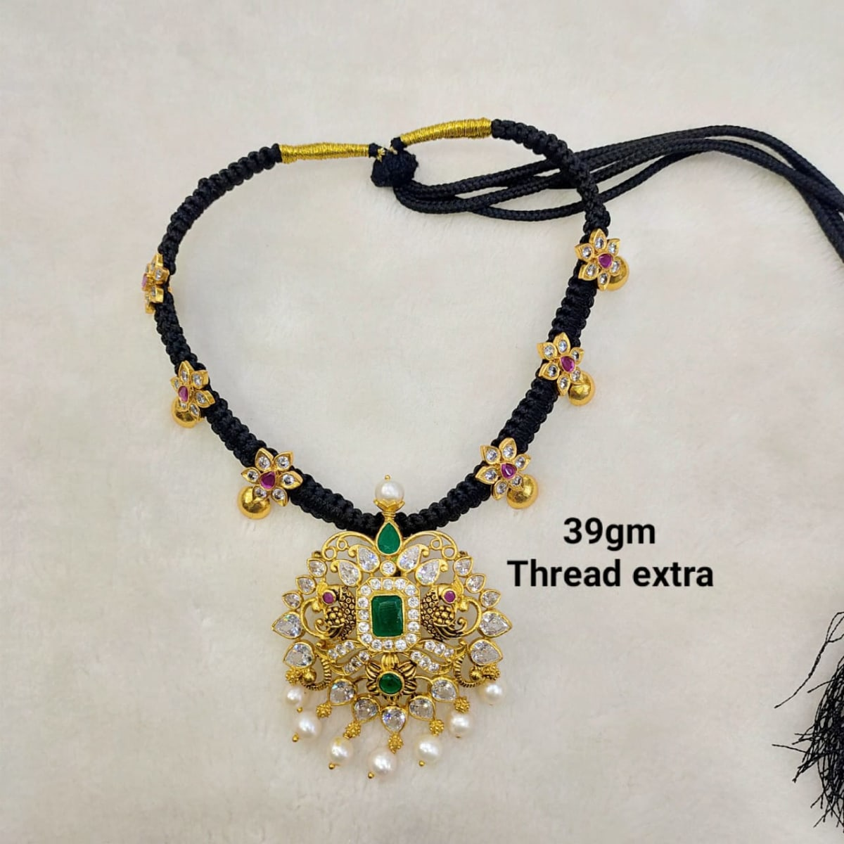 Silver Gold Plated Thread Jewellery