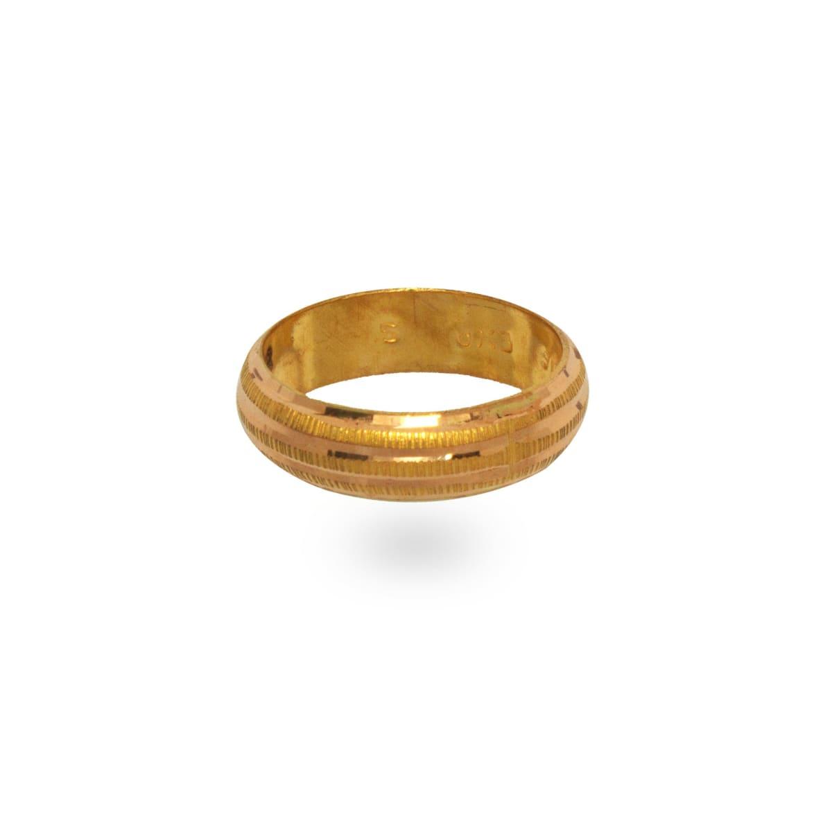 Three Line Ring