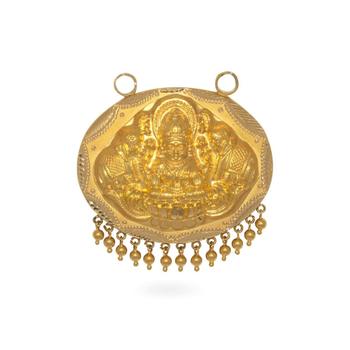 Mahaa Lakshmi Double Hook Pendant