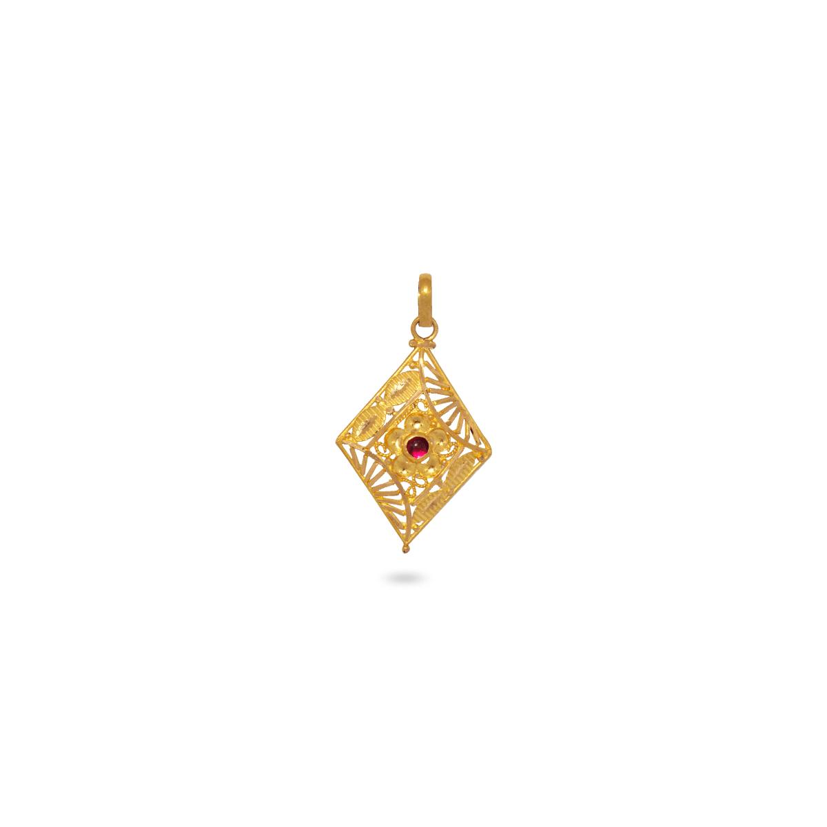 Fancy Jaanu Pendant
