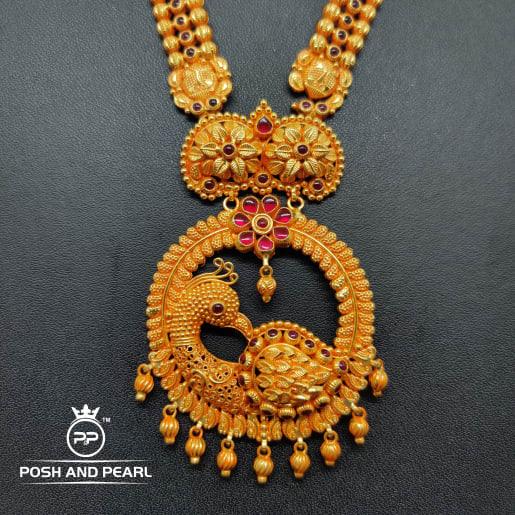 Peacock Gundu Haar