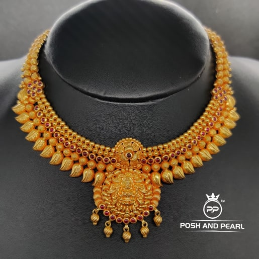 Fancy Laxmi Mango Necklace