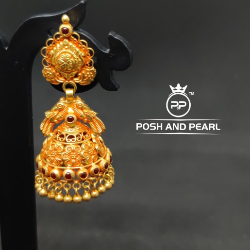 Designer Traditional Jhumkas 1