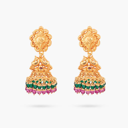 Kanmani Traditional Jhumka