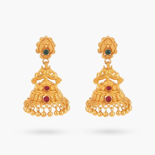 Kalai Traditional Jhumka