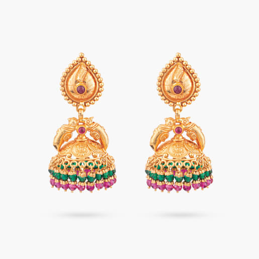 Sukrithi Traditional Jhumka