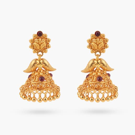 Basanti Traditional Jhumka