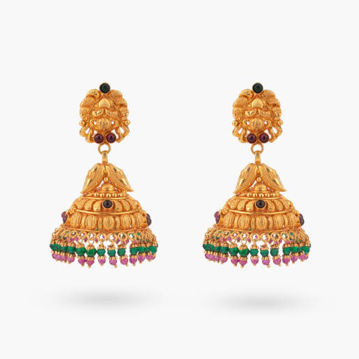 Bakula Traditional Jhumka