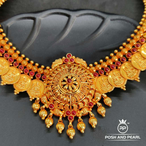 Fancy Laxmi Necklace