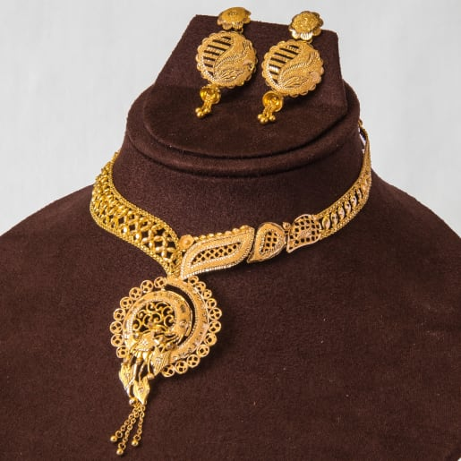 Anitha Necklace Set