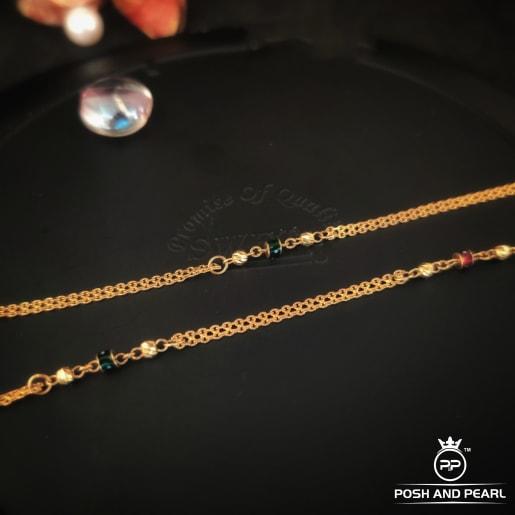 Flat Fancy Short Ball Chain Pp0251